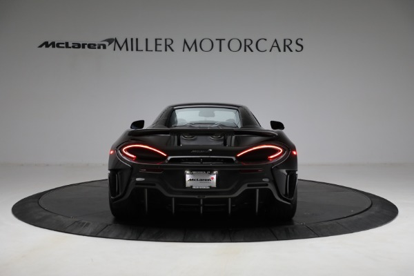 Used 2020 McLaren 600LT Spider for sale Call for price at Pagani of Greenwich in Greenwich CT 06830 23