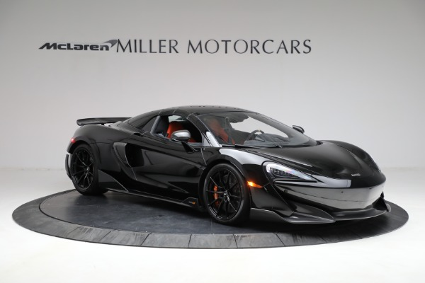 Used 2020 McLaren 600LT Spider for sale Call for price at Pagani of Greenwich in Greenwich CT 06830 26
