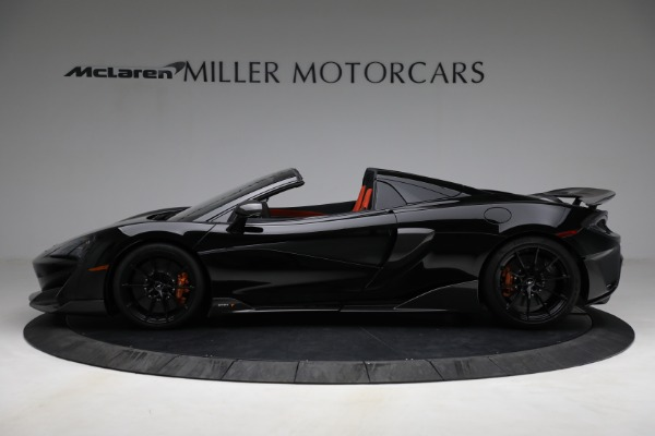 Used 2020 McLaren 600LT Spider for sale Call for price at Pagani of Greenwich in Greenwich CT 06830 3