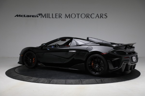 Used 2020 McLaren 600LT Spider for sale Call for price at Pagani of Greenwich in Greenwich CT 06830 4