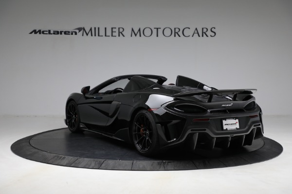 Used 2020 McLaren 600LT Spider for sale Call for price at Pagani of Greenwich in Greenwich CT 06830 5