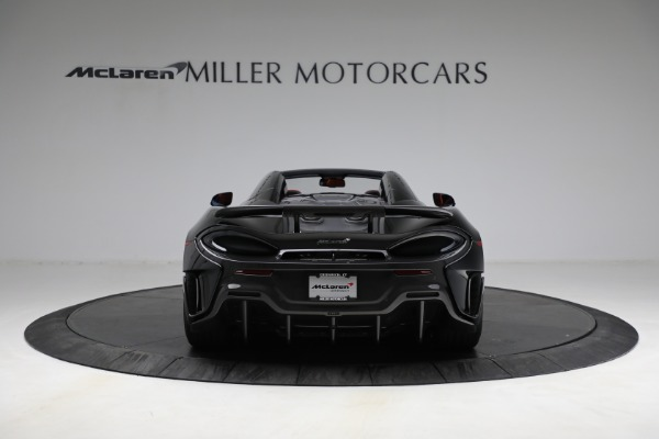 Used 2020 McLaren 600LT Spider for sale Call for price at Pagani of Greenwich in Greenwich CT 06830 6