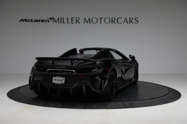 Used 2020 McLaren 600LT Spider for sale Call for price at Pagani of Greenwich in Greenwich CT 06830 7