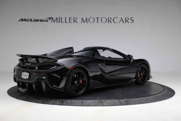Used 2020 McLaren 600LT Spider for sale Call for price at Pagani of Greenwich in Greenwich CT 06830 8