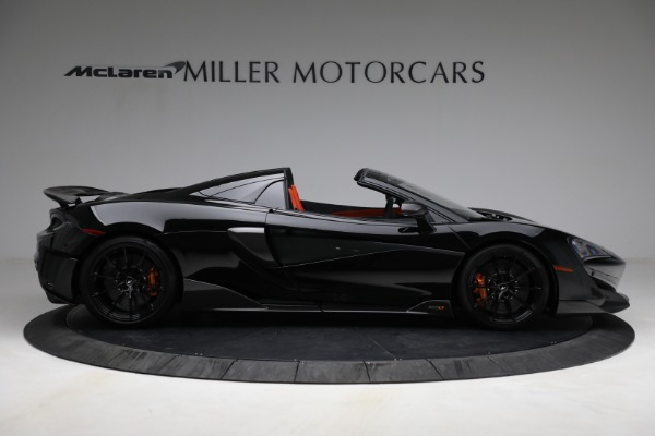 Used 2020 McLaren 600LT Spider for sale Call for price at Pagani of Greenwich in Greenwich CT 06830 9