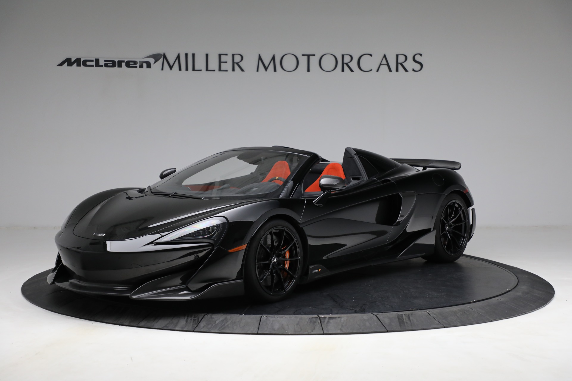 Used 2020 McLaren 600LT Spider for sale Call for price at Pagani of Greenwich in Greenwich CT 06830 1