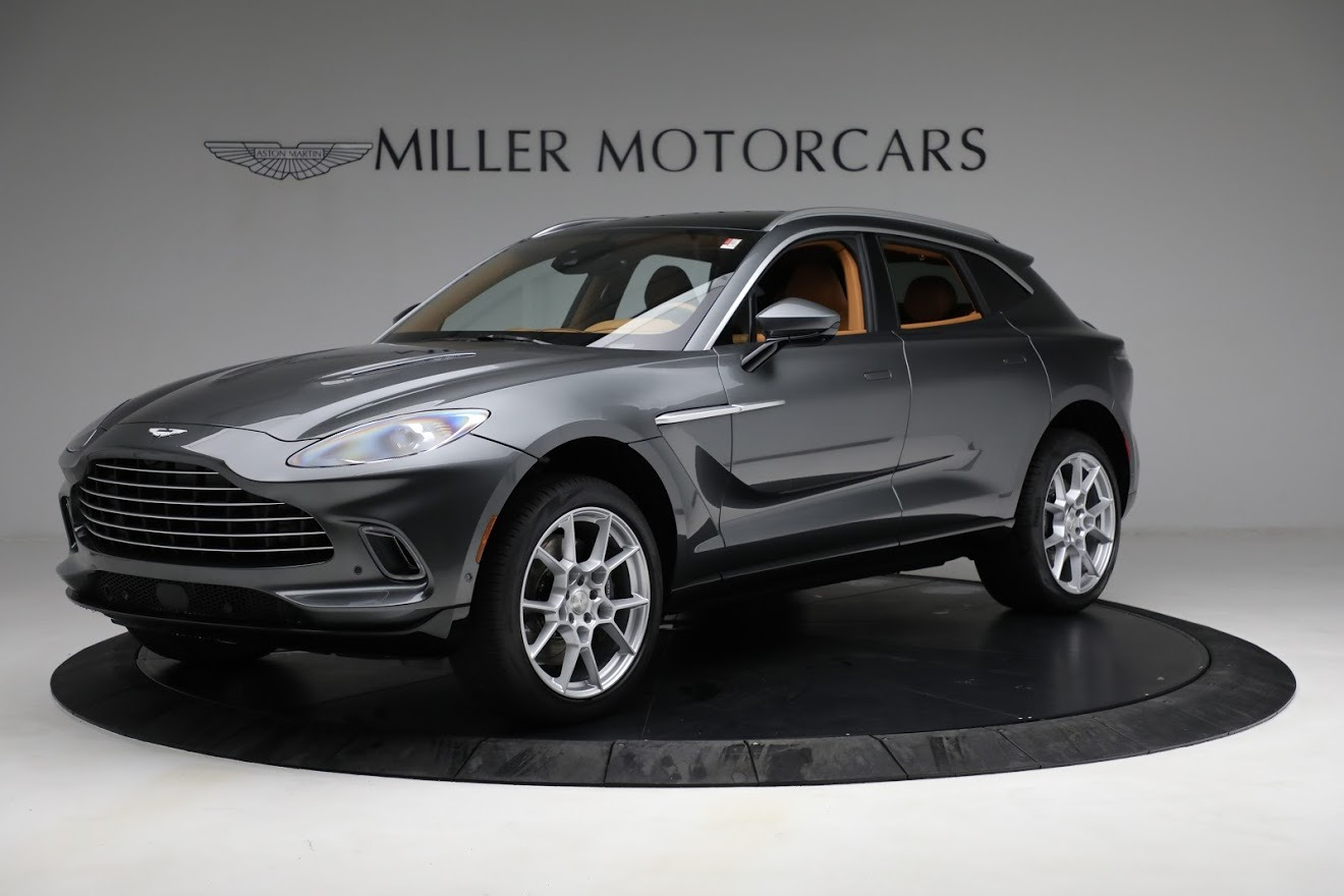 New 2021 Aston Martin DBX for sale Sold at Pagani of Greenwich in Greenwich CT 06830 1