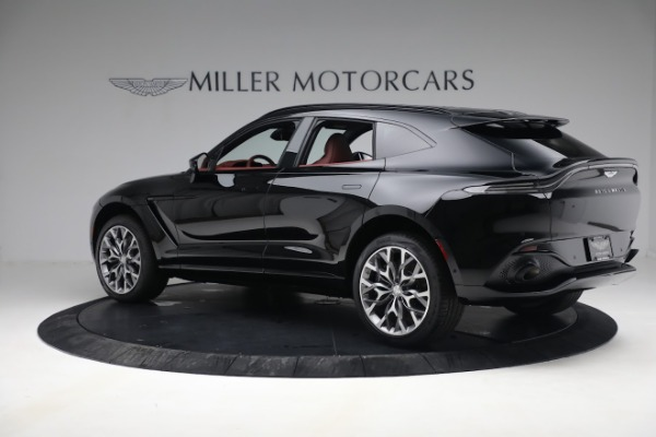 New 2021 Aston Martin DBX for sale $200,686 at Pagani of Greenwich in Greenwich CT 06830 3