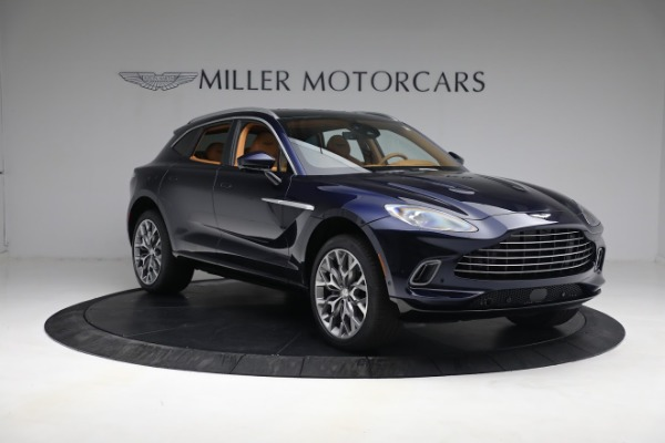 New 2021 Aston Martin DBX for sale $209,586 at Pagani of Greenwich in Greenwich CT 06830 10