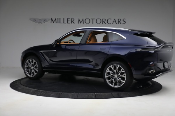 New 2021 Aston Martin DBX for sale $209,586 at Pagani of Greenwich in Greenwich CT 06830 3