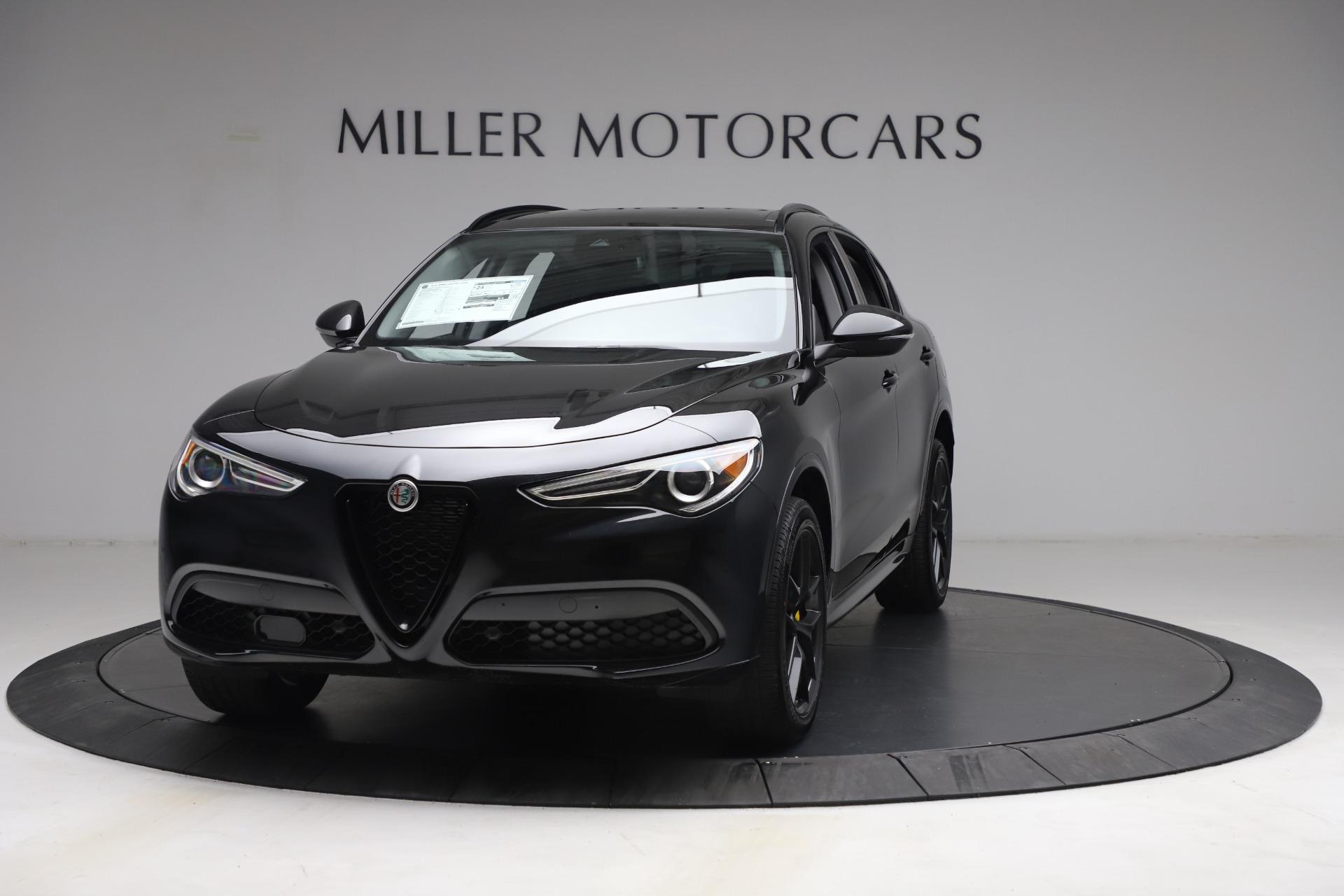 New 2021 Alfa Romeo Stelvio Ti for sale $51,955 at Pagani of Greenwich in Greenwich CT 06830 1