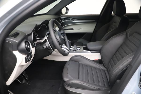 New 2021 Alfa Romeo Stelvio Ti Sport Q4 for sale $57,200 at Pagani of Greenwich in Greenwich CT 06830 14