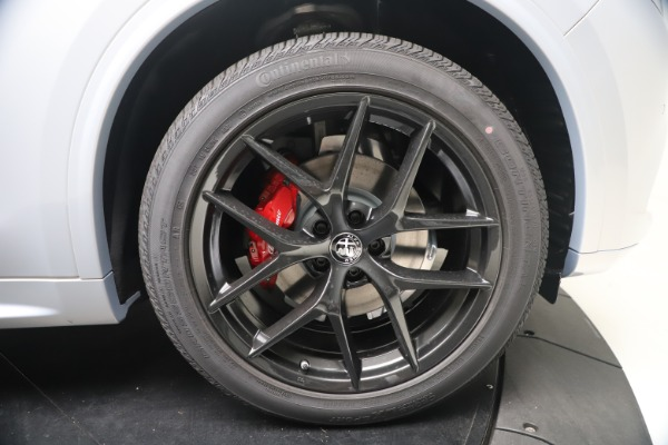 New 2021 Alfa Romeo Stelvio Ti Sport Q4 for sale $57,200 at Pagani of Greenwich in Greenwich CT 06830 23