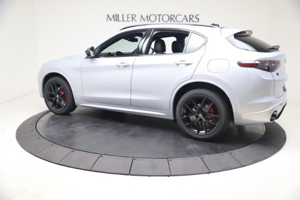 New 2021 Alfa Romeo Stelvio Ti Sport Q4 for sale $57,200 at Pagani of Greenwich in Greenwich CT 06830 4