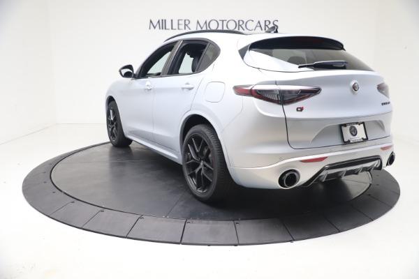 New 2021 Alfa Romeo Stelvio Ti Sport Q4 for sale $57,200 at Pagani of Greenwich in Greenwich CT 06830 5