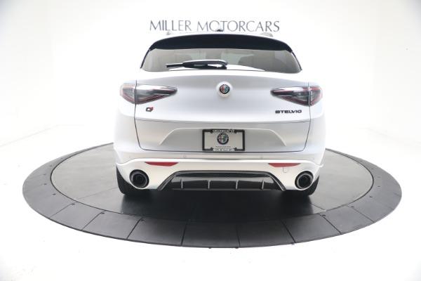 New 2021 Alfa Romeo Stelvio Ti Sport Q4 for sale $57,200 at Pagani of Greenwich in Greenwich CT 06830 6