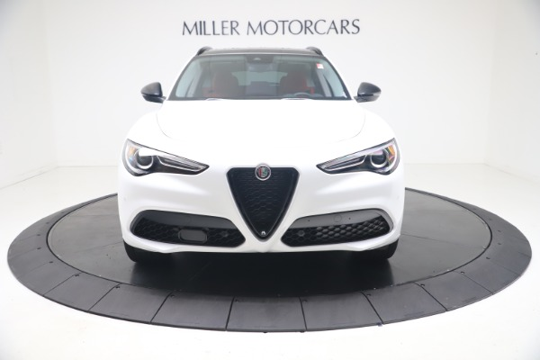 New 2021 Alfa Romeo Stelvio Ti Q4 for sale $53,740 at Pagani of Greenwich in Greenwich CT 06830 13