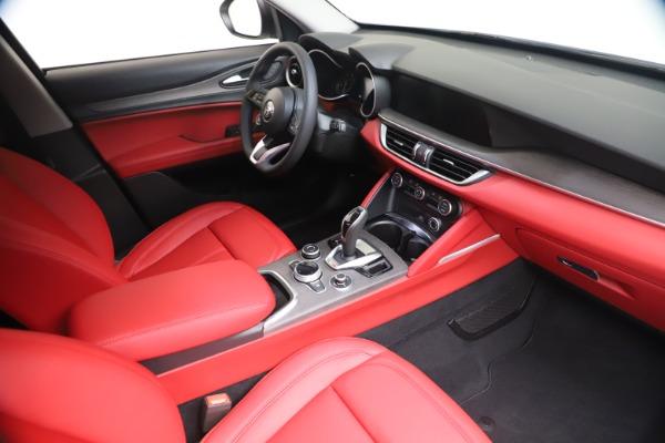 New 2021 Alfa Romeo Stelvio Ti Q4 for sale $53,740 at Pagani of Greenwich in Greenwich CT 06830 19
