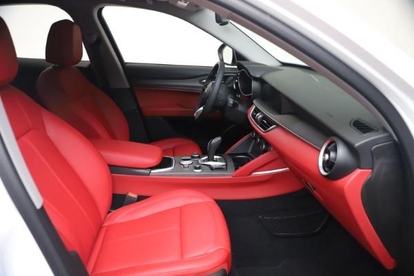 New 2021 Alfa Romeo Stelvio Ti Q4 for sale $53,740 at Pagani of Greenwich in Greenwich CT 06830 20