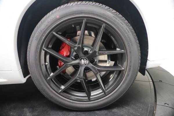 New 2021 Alfa Romeo Stelvio Ti Q4 for sale $53,740 at Pagani of Greenwich in Greenwich CT 06830 23