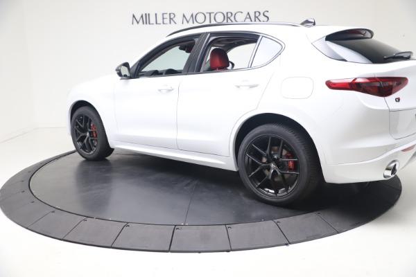 New 2021 Alfa Romeo Stelvio Ti Q4 for sale $53,740 at Pagani of Greenwich in Greenwich CT 06830 4