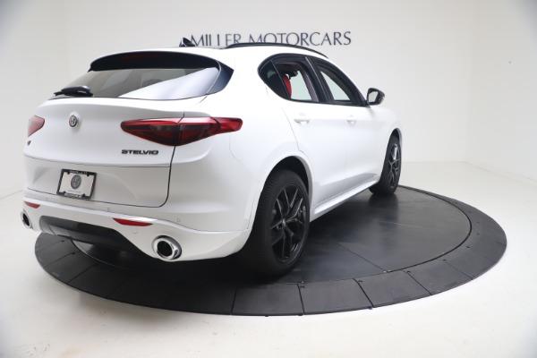 New 2021 Alfa Romeo Stelvio Ti Q4 for sale $53,740 at Pagani of Greenwich in Greenwich CT 06830 8