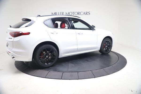 New 2021 Alfa Romeo Stelvio Ti Q4 for sale $53,740 at Pagani of Greenwich in Greenwich CT 06830 9