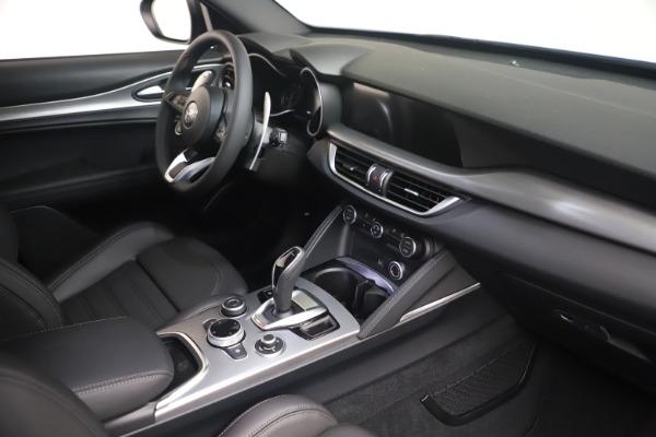 New 2021 Alfa Romeo Stelvio Ti Sport Q4 for sale Sold at Pagani of Greenwich in Greenwich CT 06830 18