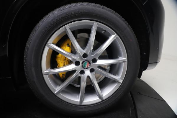 New 2021 Alfa Romeo Stelvio Ti Q4 for sale $54,755 at Pagani of Greenwich in Greenwich CT 06830 13