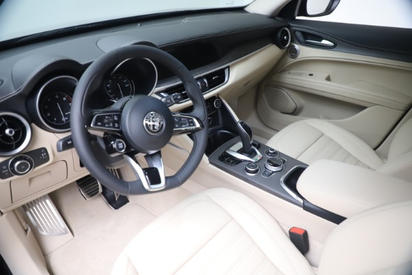 New 2021 Alfa Romeo Stelvio Ti Q4 for sale $54,755 at Pagani of Greenwich in Greenwich CT 06830 15