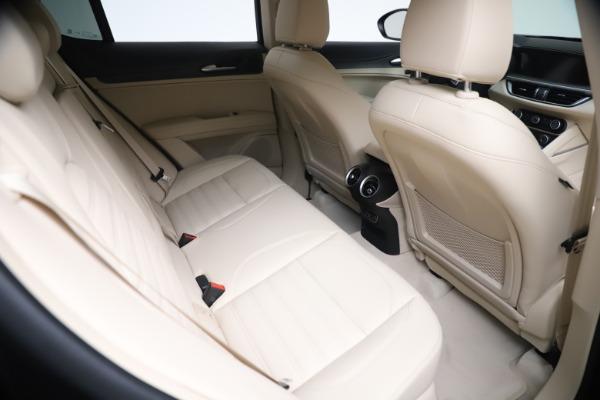New 2021 Alfa Romeo Stelvio Ti Q4 for sale $54,755 at Pagani of Greenwich in Greenwich CT 06830 22