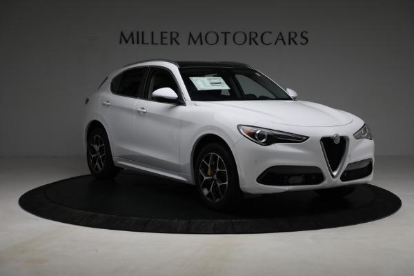 New 2021 Alfa Romeo Stelvio Ti Q4 for sale $54,840 at Pagani of Greenwich in Greenwich CT 06830 11