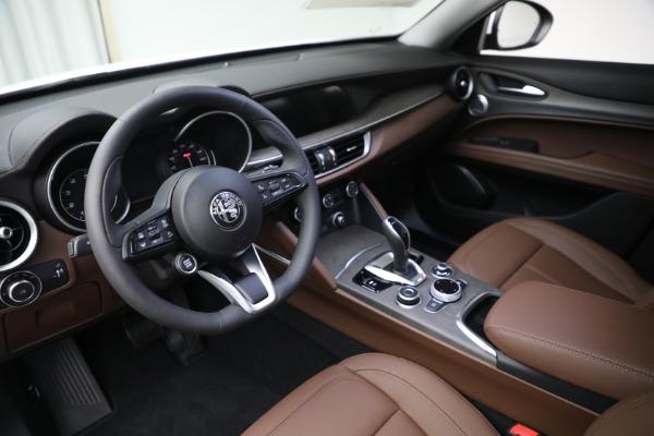 New 2021 Alfa Romeo Stelvio Ti Q4 for sale $54,840 at Pagani of Greenwich in Greenwich CT 06830 13