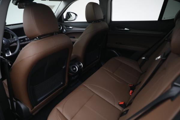 New 2021 Alfa Romeo Stelvio Ti Q4 for sale $54,840 at Pagani of Greenwich in Greenwich CT 06830 22