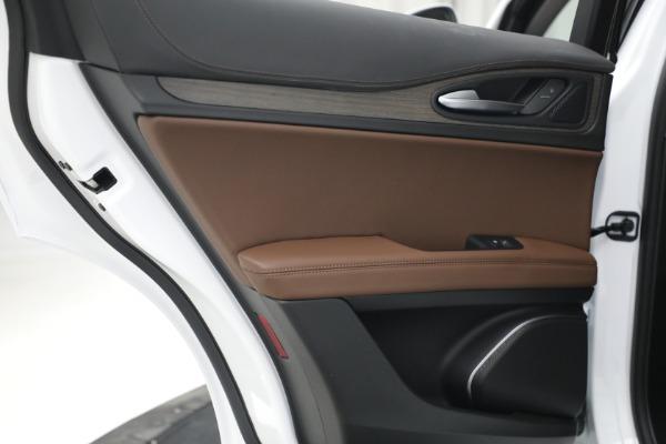 New 2021 Alfa Romeo Stelvio Ti Q4 for sale $54,840 at Pagani of Greenwich in Greenwich CT 06830 26