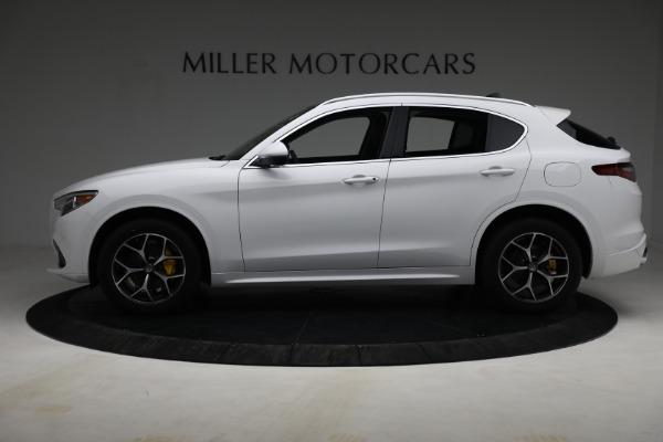 New 2021 Alfa Romeo Stelvio Ti Q4 for sale $54,840 at Pagani of Greenwich in Greenwich CT 06830 3
