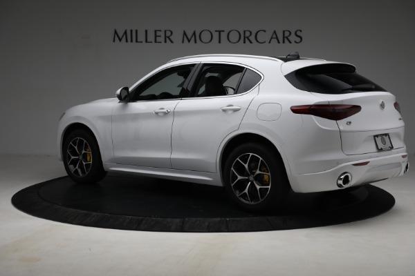 New 2021 Alfa Romeo Stelvio Ti Q4 for sale $54,840 at Pagani of Greenwich in Greenwich CT 06830 4