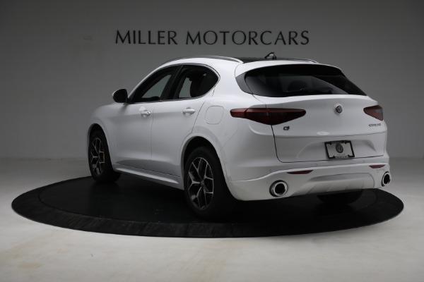 New 2021 Alfa Romeo Stelvio Ti Q4 for sale $54,840 at Pagani of Greenwich in Greenwich CT 06830 5
