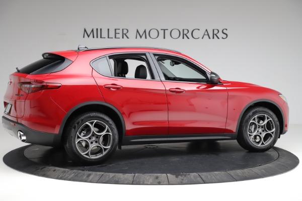 New 2021 Alfa Romeo Stelvio Q4 for sale $50,535 at Pagani of Greenwich in Greenwich CT 06830 11