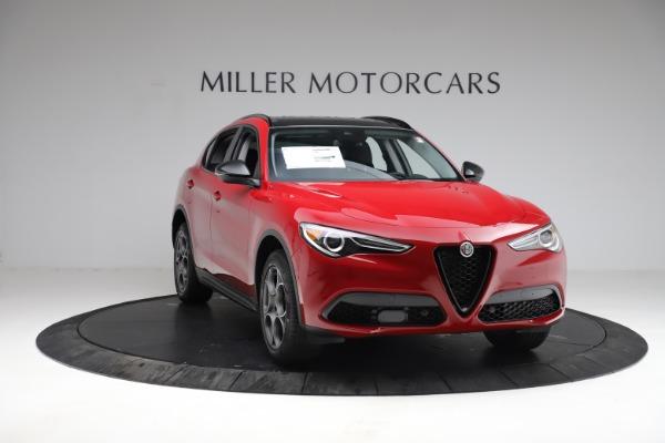 New 2021 Alfa Romeo Stelvio Q4 for sale $50,535 at Pagani of Greenwich in Greenwich CT 06830 14