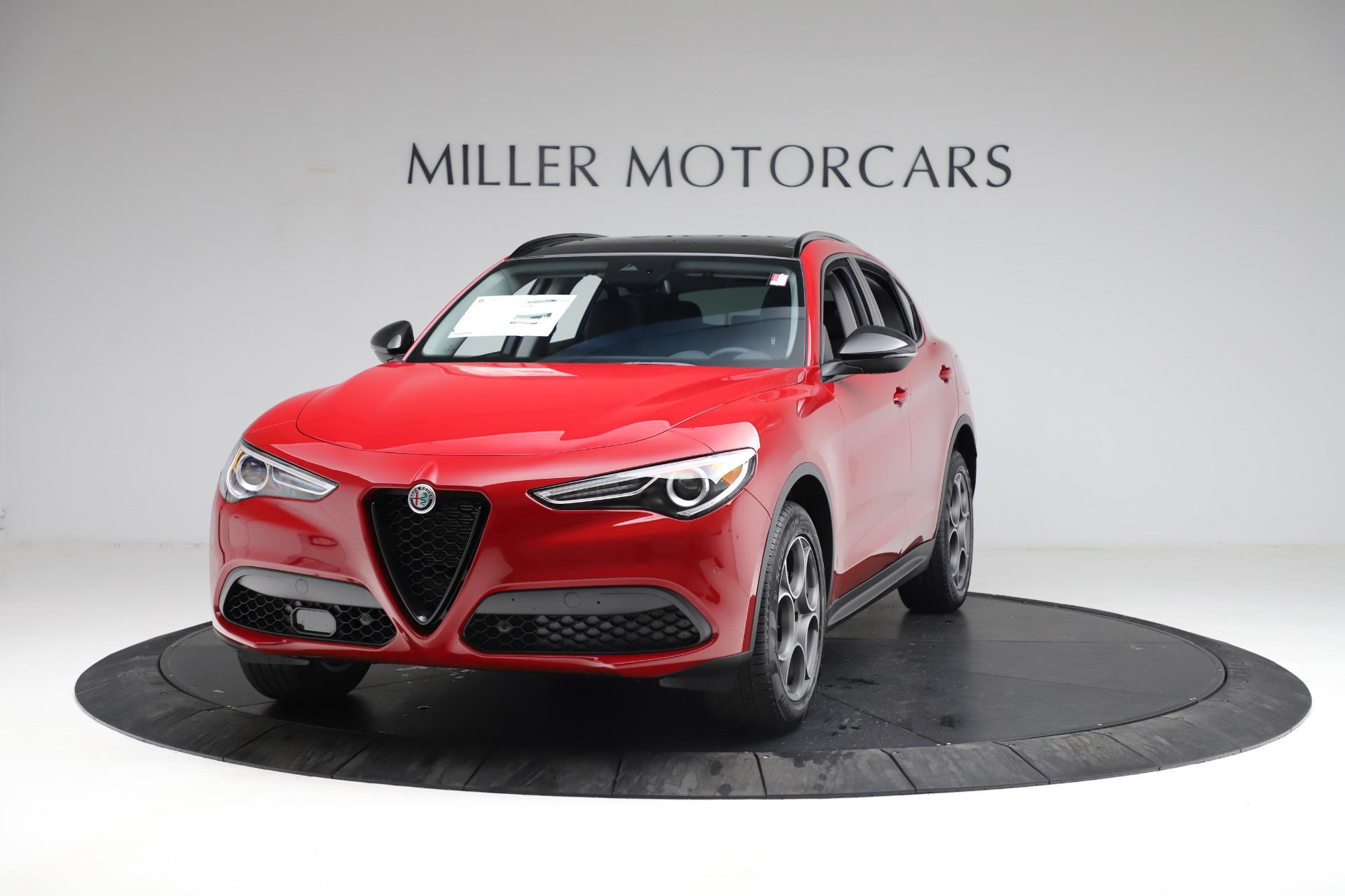 New 2021 Alfa Romeo Stelvio Q4 for sale $50,535 at Pagani of Greenwich in Greenwich CT 06830 1