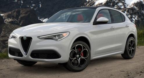New 2021 Alfa Romeo Stelvio Ti Sport Q4 for sale $54,740 at Pagani of Greenwich in Greenwich CT 06830 1