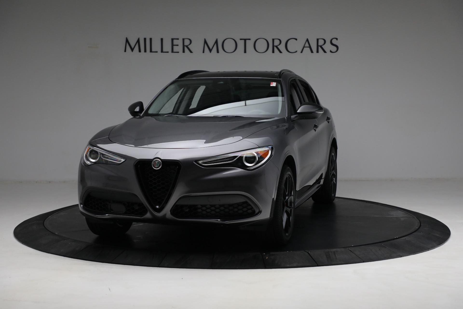New 2021 Alfa Romeo Stelvio Ti Q4 for sale $52,705 at Pagani of Greenwich in Greenwich CT 06830 1