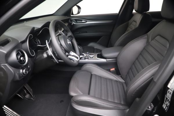 New 2021 Alfa Romeo Stelvio Ti Sport Q4 for sale $56,900 at Pagani of Greenwich in Greenwich CT 06830 14
