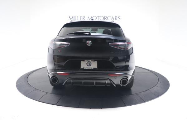 New 2021 Alfa Romeo Stelvio Ti Sport Q4 for sale $56,900 at Pagani of Greenwich in Greenwich CT 06830 6