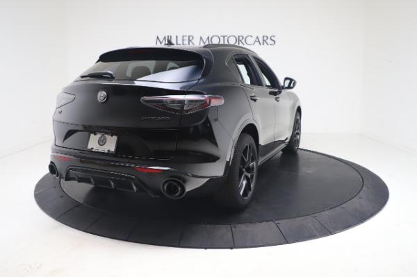 New 2021 Alfa Romeo Stelvio Ti Sport Q4 for sale $56,900 at Pagani of Greenwich in Greenwich CT 06830 7