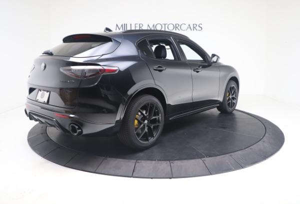 New 2021 Alfa Romeo Stelvio Ti Sport Q4 for sale $56,900 at Pagani of Greenwich in Greenwich CT 06830 8