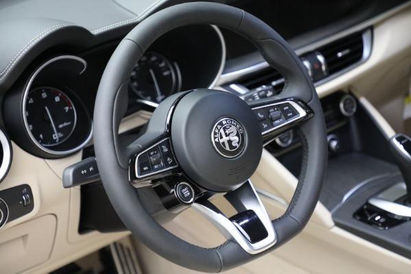 New 2021 Alfa Romeo Stelvio Ti Q4 for sale $55,205 at Pagani of Greenwich in Greenwich CT 06830 20