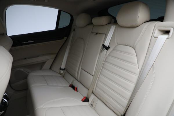 New 2021 Alfa Romeo Stelvio Ti Q4 for sale $55,205 at Pagani of Greenwich in Greenwich CT 06830 25