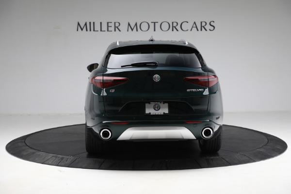 New 2021 Alfa Romeo Stelvio Ti Q4 for sale $55,205 at Pagani of Greenwich in Greenwich CT 06830 6